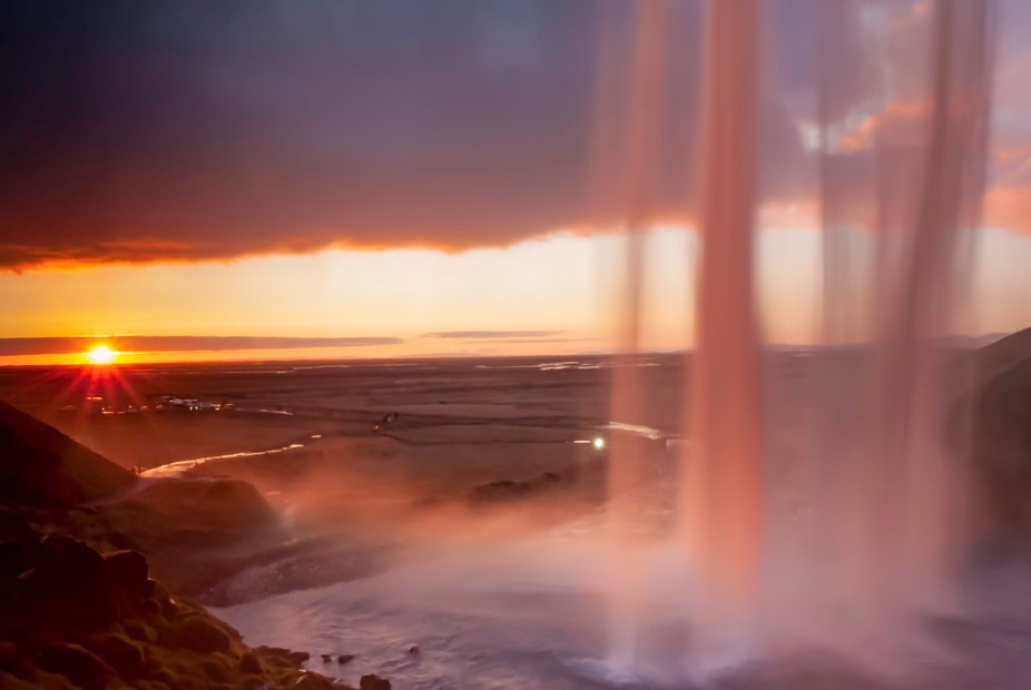 After spending a few hours at Seljalandsfoss in Iceland my girlfriend and I decided to head back ...