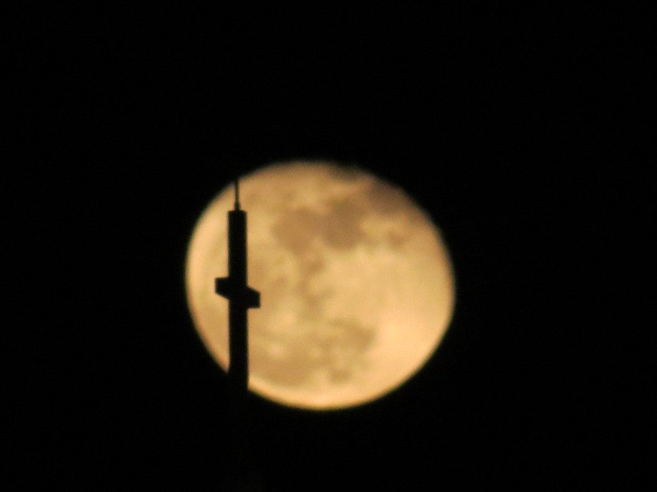 My favorite picture of the Moon & Cross.