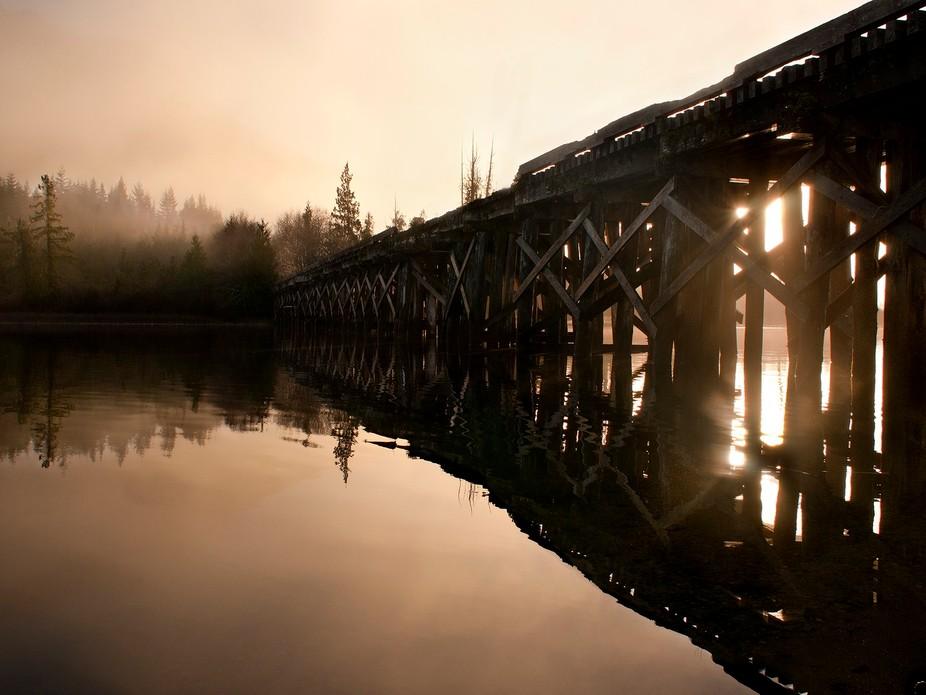 Kennedy Lake bridge