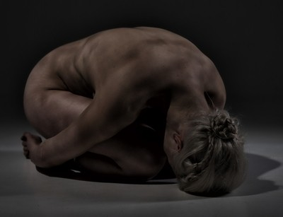 Crouching
