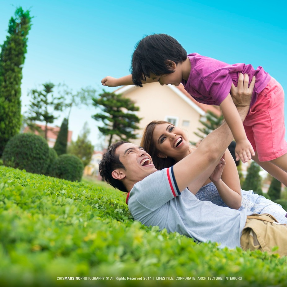 Lifestyle stock photography for a real estate company