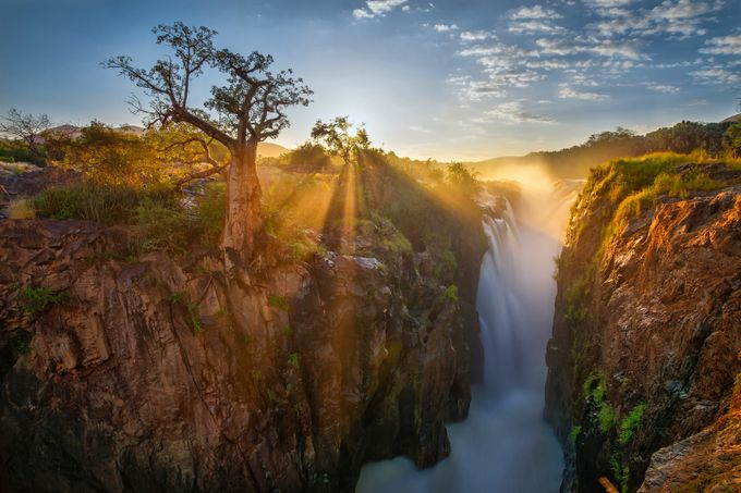 Epupa waterfall by bb676 - Our Natural Planet Photo Contest