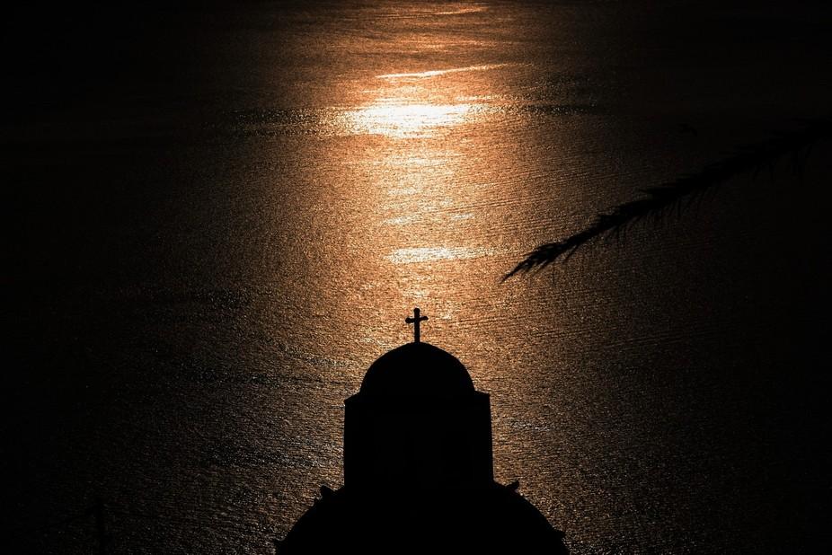Faith is simple, faith is complex, faith is heaven, faith is hell. Captured in Oia, Santorini, th...