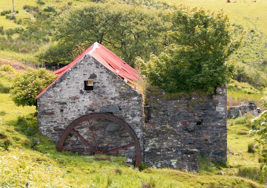 Derelict mill Isle of Luing
