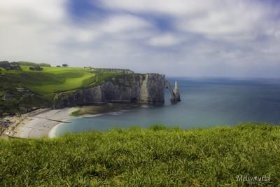 Etretat cliff