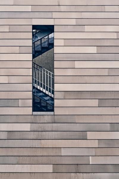 Hidden Stairway: Milwaukee Art Museum Details