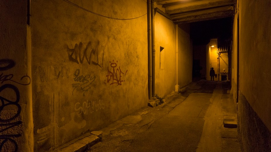Night shots in the beautiful city of Marseille.