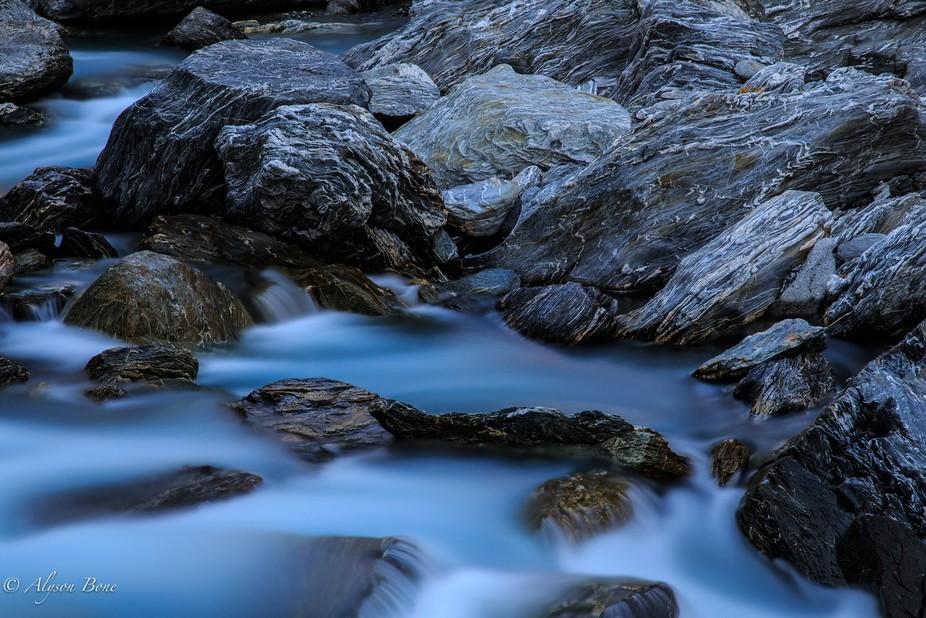 Haast Water - Water Blur-AB_IMG_5614