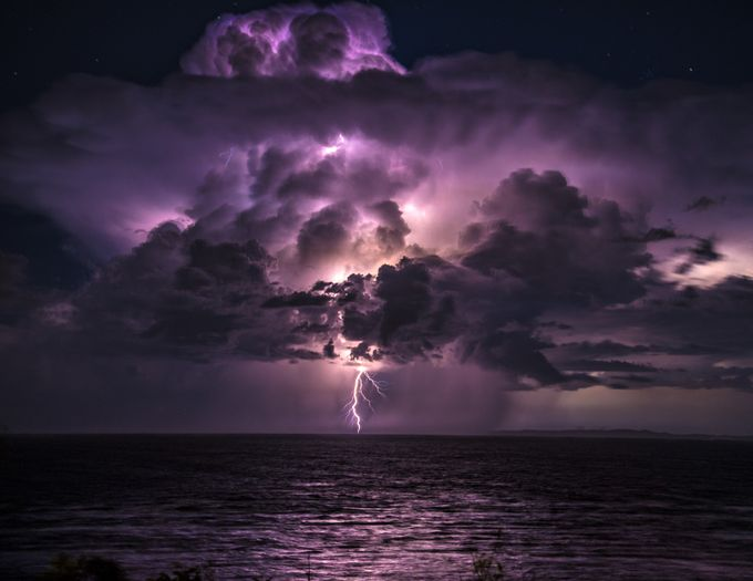 !!! Power of the Gods !!! by bobbyd-skidmore - Cloudy Nights Photo Contest