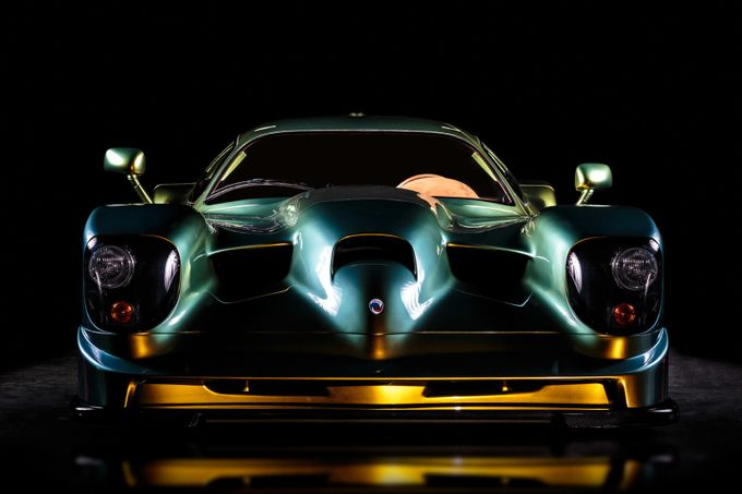 Panoz GTR-1 Front by bradbuddphotography - Awesome Cars Photo Contest