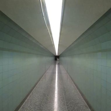 Hallway in the Grand Coulee Dam