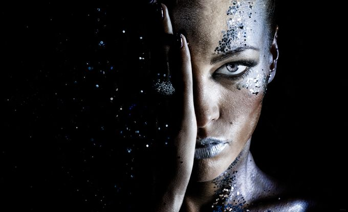 milky way by PoloD - Paint And Makeup Photo Contest