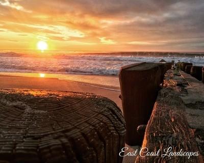 Atlantic Shore Sunrise