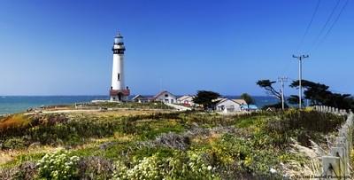 Pigeon Point Lighthouse, Big Sur Highway.