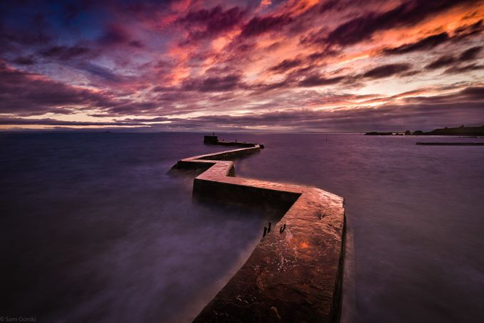St Monans by SamGorski - Diagonals And Composition Photo Contest