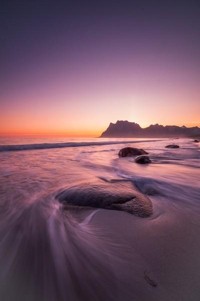 Sunset, Uttakleiv, Lofoten