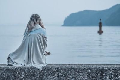 Woman & Sea