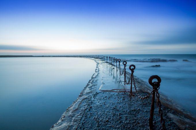 Newcastle Canoe Pool by darrenbarnett - A World Of Blue Photo Contest