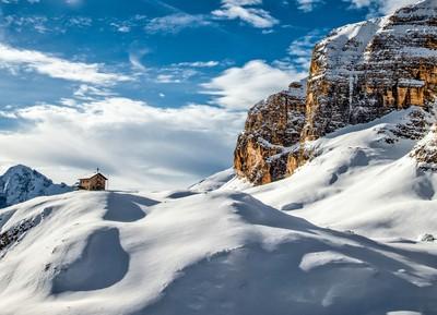 in Dolomites..