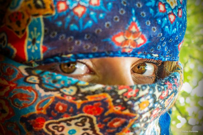 Your eyes by aKrommidas - Cultures of the World Photo Contest