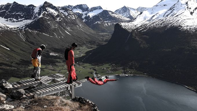 BASE jump at Gridset by jayarnold - Life And Freedom Photo Contest
