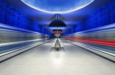 Subway Munich Westfriedhof