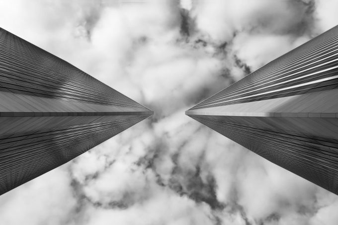 Sky Pointers by weshardaker - Simple Architecture Photo Contest