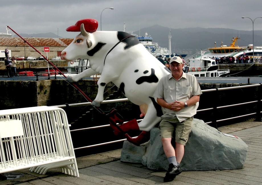 Fishing Cow