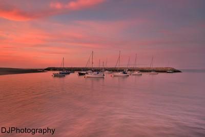 Sunset,Rhos On Sea.