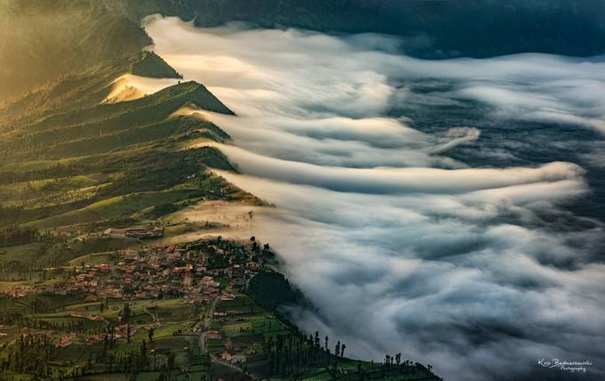 Cemoro Lawang by krisbednarzewski - The Moving Clouds Photo Contest