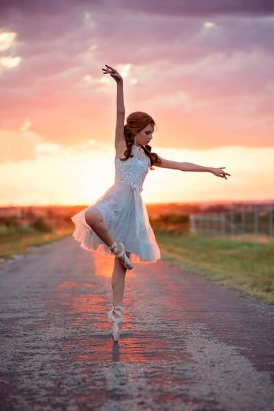 Ballet at Sunset