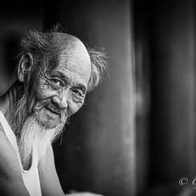 Old Man in China