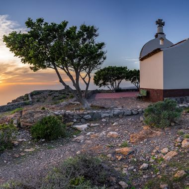 A panorama from a wonderful place on canary island, La Gomera.