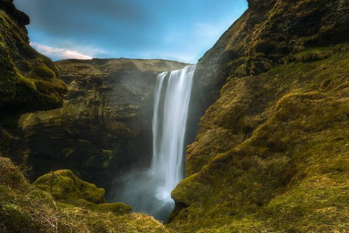 The Mighty Skogafoss by Tor-Ivar