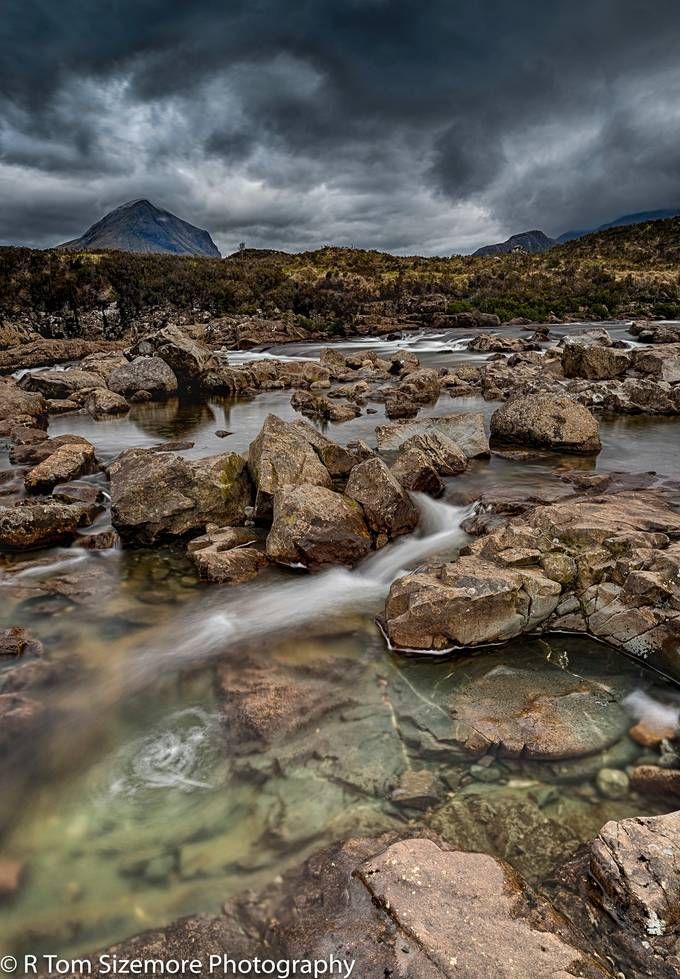 Taken at Sligachan, Isle of Skye, Scotland.  It rained almost constantly during my visit.