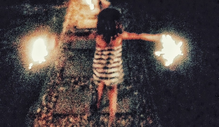 4th of July my daughter enjoying her sparklers...perfect memories to me. This was before my mothe...