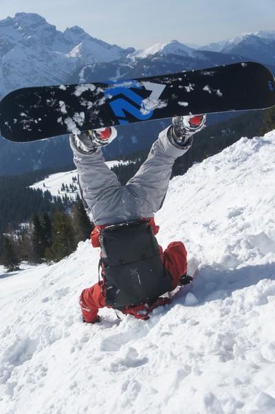 Madonna de campilieo snowboard fun