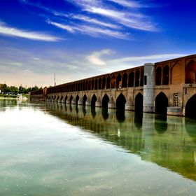"""Pol"" is Farsi means ""Bridge"" and this bridge is called ""33 Pol""! Iran - Isfahan"