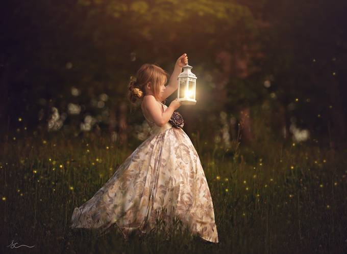 Chasing fairies  by stephaniecomeau - Fairytale Moments Photo Contest