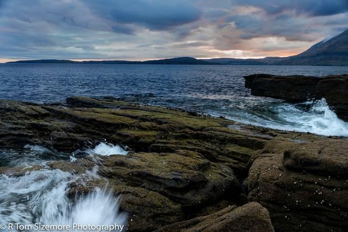 Taken at Engol, Isle of Skye, Scotland just at sunset.