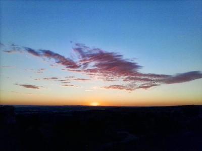 Peaceful Evening Colors