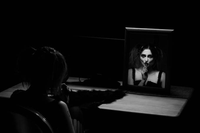 Reflect by yazmindawson - The Face in the Mirror Photo Contest