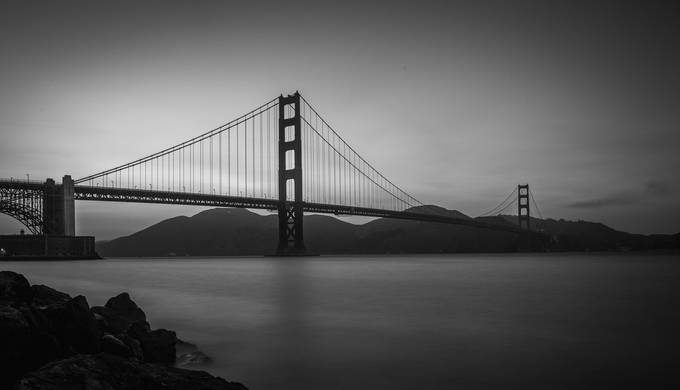 Golden by Shootswithcoops - Structures in Black and White Photo Contest