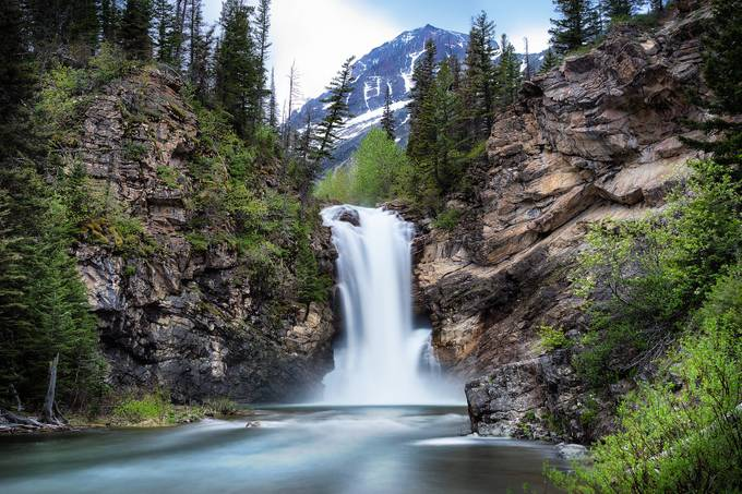 Running Eagle Falls by scottwilson - The Magic Of Moving Water Photo Contest