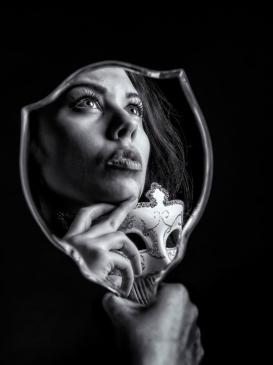 unmasked by beamieyoung - A Face In The Mirror Photo Contest
