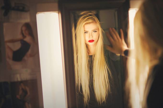 Liliya Color by warrenstowell - The Face in the Mirror Photo Contest
