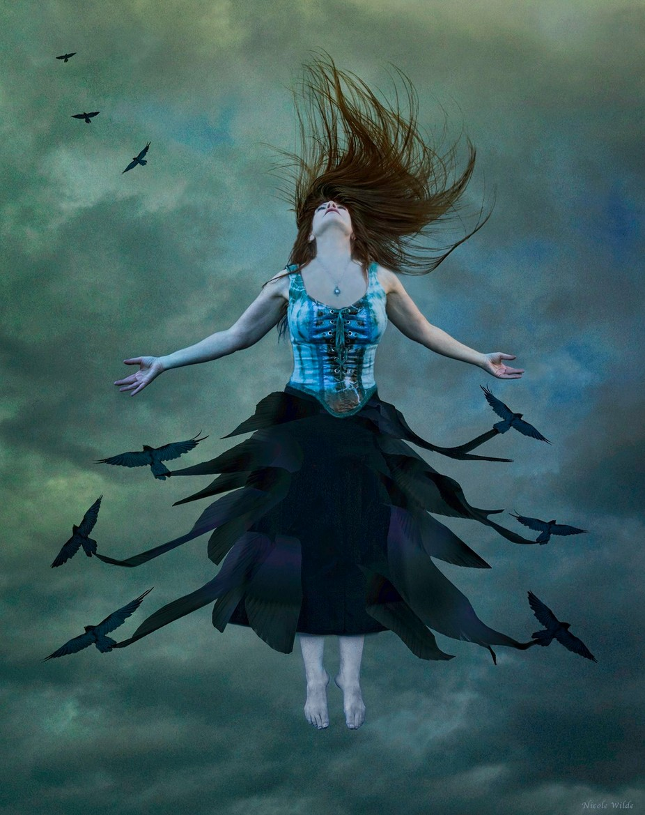 The Rising by Nic1111 - The Art Of Levitation Photo Contest