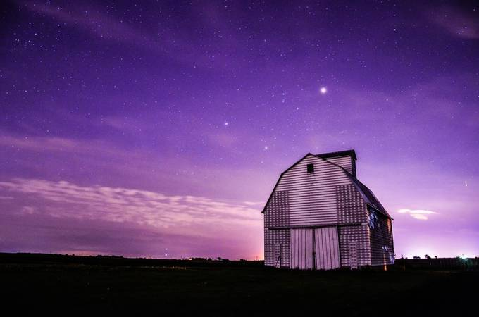 star gazzing by aapphotography - Shades Of Purple Project