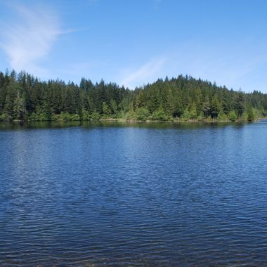 Bainbridge Lake in Port Alberni on Vancouver Island