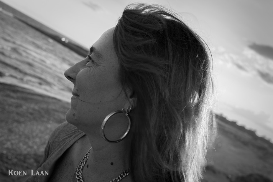 My wife was shooting pictures at the beach while I made some beautiful shots of her making pictur...